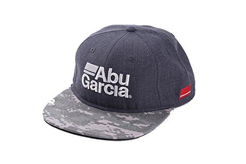 アブガルシア(Abu Garcia) キャップ フラットビルキャップ チャコール X カモフラージュ 帽子 の商品画像