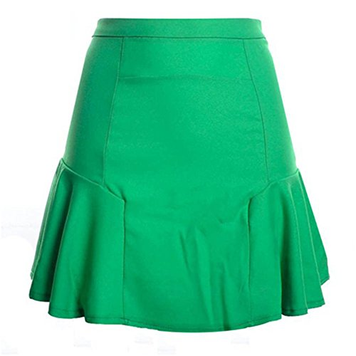 Women Tall waist skirt NEW Summer Ball gown Skirt Patchwork fishtail skirt mini chiffon skirt Fashion Ladies Bud - Fashion Mall Vegas Las Stores
