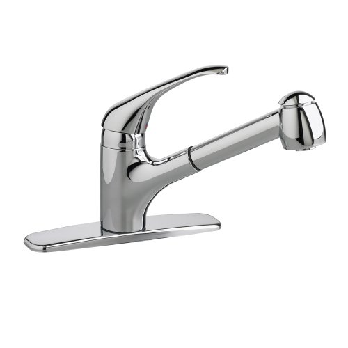American Standard 4205104F15.002 Reliant+ 1-Handle Pull-Out Kitchen Faucet with 1.5 gpm Aerator, Polished Chrome American Standard Chrome Soft Faucet
