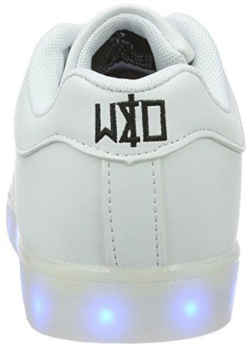 Wize & Ope Wize En Ope Led Unisex Low Sneakers Earth Made White White