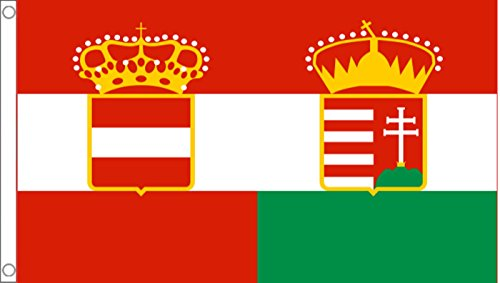 Austria Hungary Merchant Ensign 1869 to 1918 5'x3' (150cm x 90cm) Flag