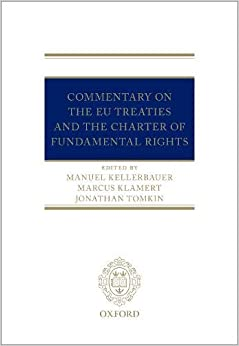 Commentary On The Eu Treaties And The Charter Of Fundamental Rights por Marcus Klamert epub