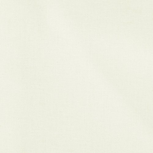 Clothworks American Made Brand Solid Light Cream Fabric by The Yard,