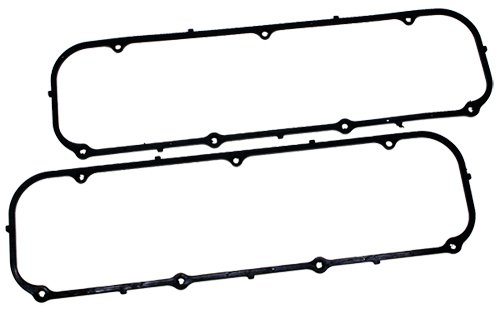 (Rubber Steel Core BB 429-460 Valve Cover Gaskets Black compatible with 1968-97 Ford models)
