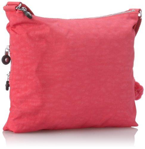 Kipling Vibrant Pink Solid Alvar Bag Crossbody PqrOw1PxU