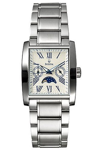 Bulova Men's 96C26 Moon Phase Watch (Bulova Moonphase)