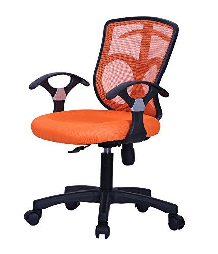 Vieworld Mesh Office Chair, Multi-Position Recline Control (ORANGE)