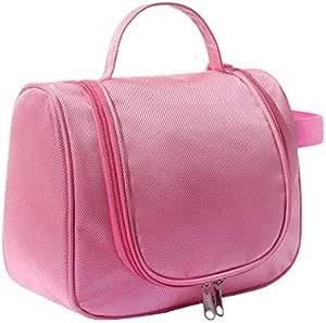 حقيبة لأدوات التجميل و الزينة مقاومه للماء للنساء لون روز رقم الصنف 396 - 6