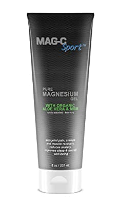 Transdermal Pure Magnesium Gel with Organic Aloe Vera and MSM for Quicker Absorption and Less Itching.