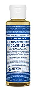 Dr. Bronner's Pure-Castile Liquid Soap (4 oz, Peppermint)