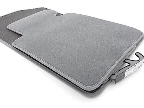kh Teile Vloermatten / velours automatten originele kwaliteit stoffen matten 4-delig grijs