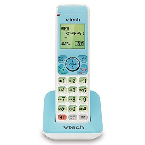 VTech TR08-2013 FoneDeco Accessory Cordless Handset, Light Blue | Requires a VTech TR1-2013, TR16-2013, or TR17-2013 Series Cordless Phone System to Operate
