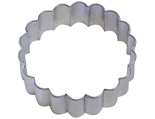 Fluted Scalloped Circle Cookie Cutter -