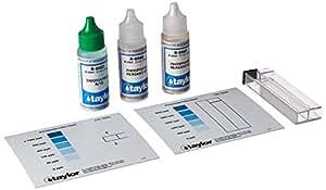 Taylor technologies inc k 1106 test kit phosphate swimming pool liquid test kits for Swimming pool test kits amazon
