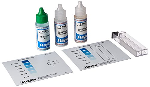 TAYLOR TECHNOLOGIES INC K-1106 TEST KIT PHOSPHATE by TAYLOR TECHNOLOGIES INC
