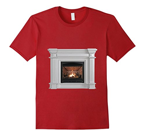 Mens Easy DIY Fireplace Ugly Christmas Sweater - Costume 3XL (Easy Diy Costumes Men)