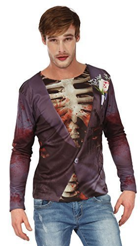 Fancy Me - Camiseta de manga larga - para hombre Smart Zombie