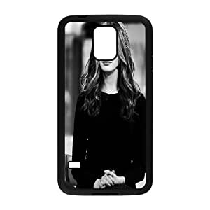 Samsung Galaxy S5 Case, Young American Actress Anne Hathaway (2) Case for Samsung Galaxy S5 {Black}