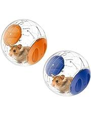 Emours Running Ball Mini 4.8 inch Small Animal Hamster Run Exercise Ball,2 Pack