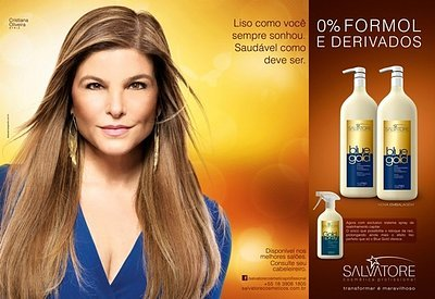 Salvatore Blue Gold Hair Straightening | Brazilian Keratin Treatment 2L by Blue Gold (Image #6)