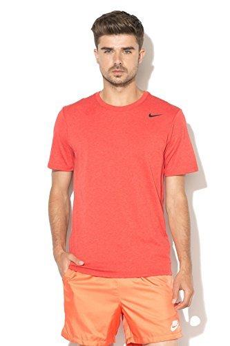 Nike Shirt Away (NIKE DFCT 2.0 Dri-FIT Tee (XL, Light University Red Heather/Black))