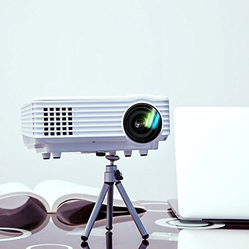 H1 led lcd wvga mini video projector international for Mini lcd projector