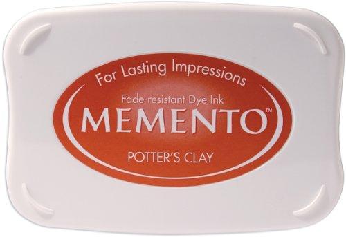 Tsukineko Full-Size Memento Fade Resistant Inkpad, Potter's Clay