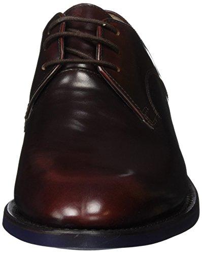 Clarks Swinley, Scarpe Stringate Uomo Marrone (Chestnut Leather)