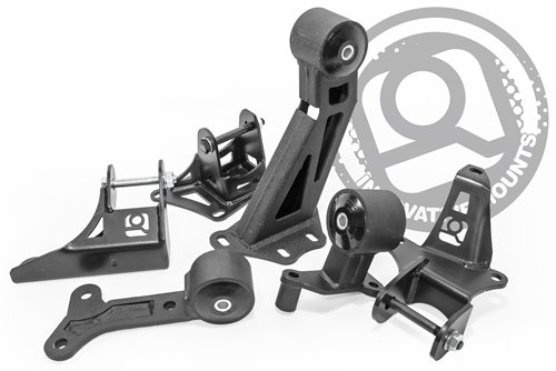 90-05 Acura NSX Replacement Mount Kit (Urethane Stiffness 75A Track Black)