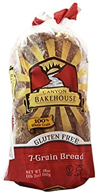 CANYON BAKEHOUSE San Juan Gluten-Free Bread Grain, 18 Ounce (Pack of 6)