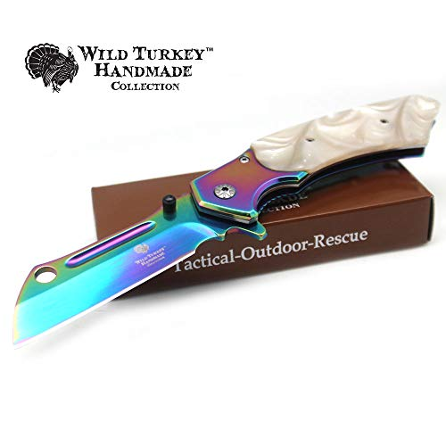 Snake Eye Tactical Heavy Duty Assisted Open Razor Style Folding Pocket Knife Outdoors Camping Hunting Fishing (RB)