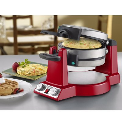 Waring WMR300RD Waffle/Omelet Red (Waring Professional Waffle Iron compare prices)