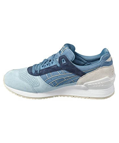 Asics Blue Unisex Grey Respector Taupe Gel Collection Platinum Sneakers FPFnfwx8