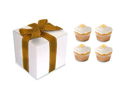 Gift Boxes White 20 Pack 8 x 8 x 4 Great For All Occasions Gift box for cupcakes, mugs,cookies Craft box