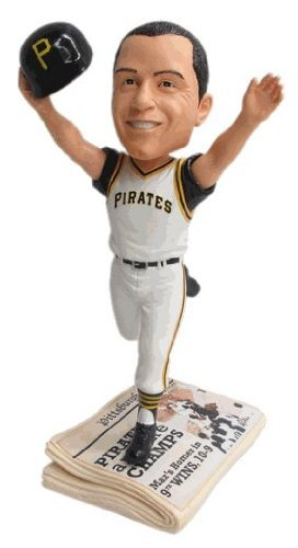 Bill Mazeroski Pittsburgh Pirates Bobblehead 1960 World Series The Greatest Home Run Ever Newspaper Base Cooperstown Collection Bobble Head Exclusive #/300