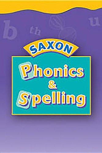Read Online Saxon Phonics And Spelling 2: Fluency Reader  Set B, Average ebook