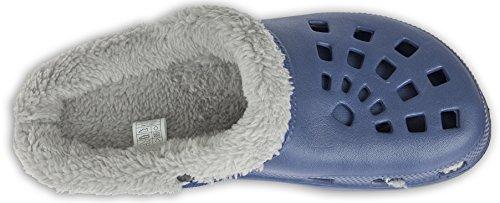 Winterclogs 36 Unisex Schuhe Grau 45 Gr Gartenschuhe � Clogs Hausschuhe Blau verschiedene Farben gefüttert wHwfF