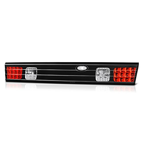 VIPMotoZ 1995-1998 Nissan 240SX Trunk LED Taillights Taillamps, Driver and Passenger Side
