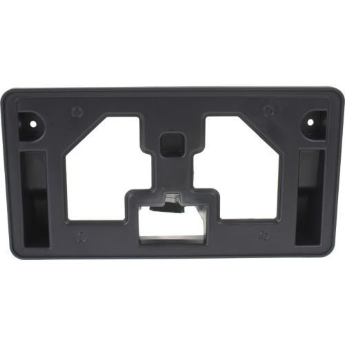 Accord Front License Plate Bracket Perfect Fit Group REPH017306 Sedan Black
