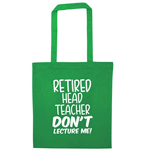 Tote Creative me teacher Bag head lecture Green don't Flox Retired qUw5gn5a