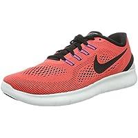 Nike Men's Free RN Ember Glow/Black/Wolf Grey Running Shoe 10 Men US