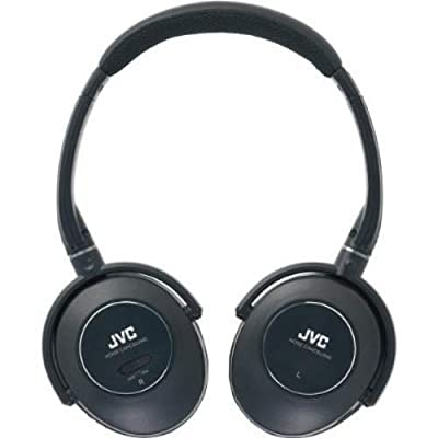 JVC Noise Cancelling Headphones - Black