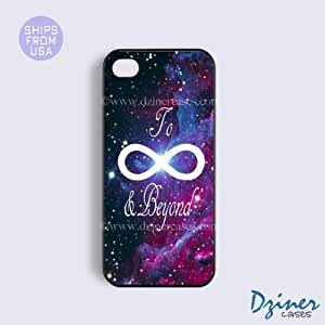 iPhone 4 4s Case - To Infinity And Beyond Galaxy iPhone Cover