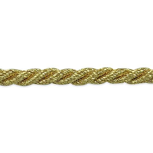 Phoenix 1/8in Twisted Cord Trim Metallic Gold