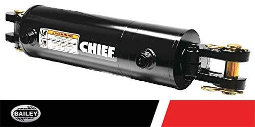 Chief WC Welded Cylinder: 2 Bore x 48 Stroke, 3000 PSI, 1.125