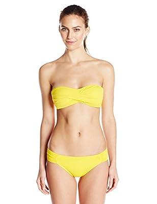 La Blanca Women's Solid Hipster Bikini Bottom