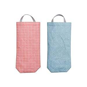 Amazon.com: hihelp Juego de 2 bolsa de plástico titular ...