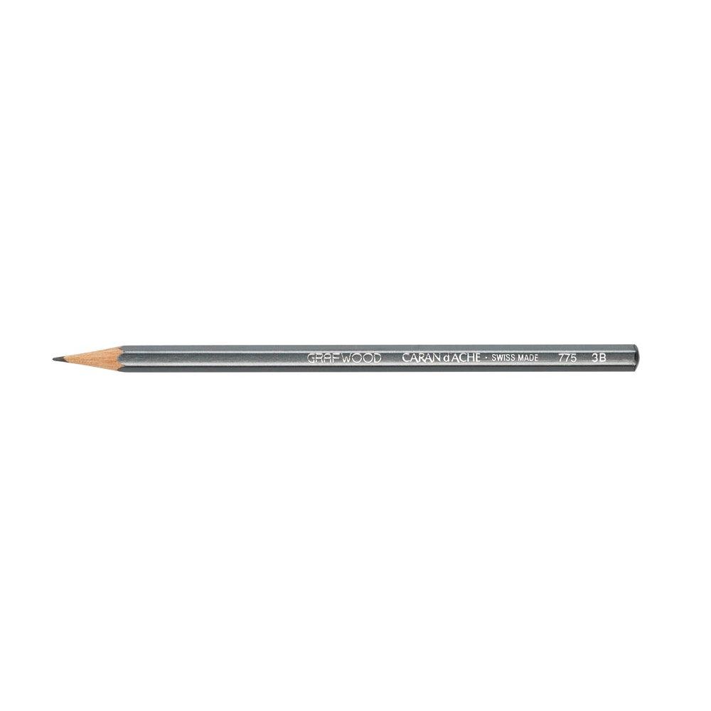 CARAN d'ACHE カランダッシュ 775253 グラフウッド鉛筆 3B B001UNOJ12