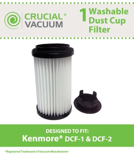 Kenmore DCF-1 DCF-2 Washable &…