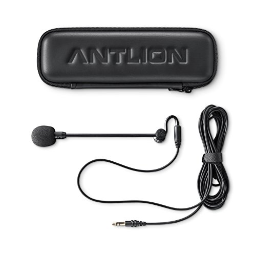 Antlion Audio ModMic Attachable Boom Microphone - Noise Cancelling WITHOUT Mute Switch - Mic Mute